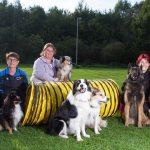 Hundesportverein Münster mit Mannschaft bei den Vereinsdeutschen Meisterschaften