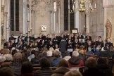 Passion von Heinrich Fidelis Müller in St. Nikolaus Wolbeck mit dem Kirchenchor und dem Ensemble TonArt, geleitet von Torsten Schwarte. Foto: A. Hasenkamp, Fotograf in Münster.