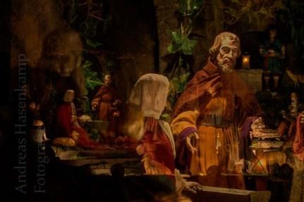 Kurz vor Weihnachten - in der Wandelkrippe von St. Nikolaus 1