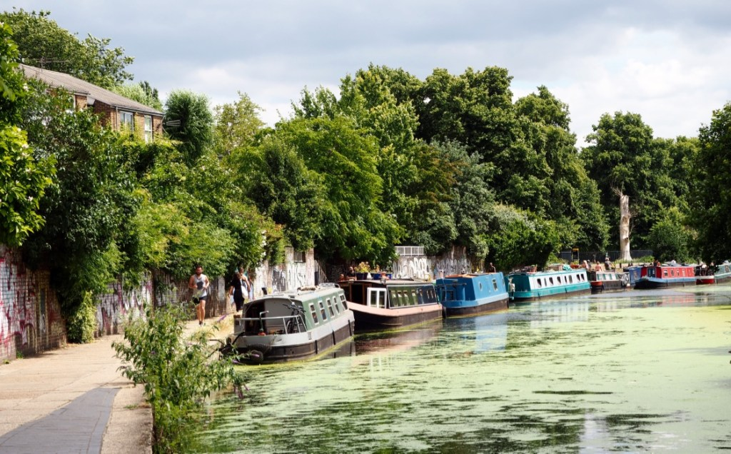 Columbia Road Tiny Trail - Regent's Canal