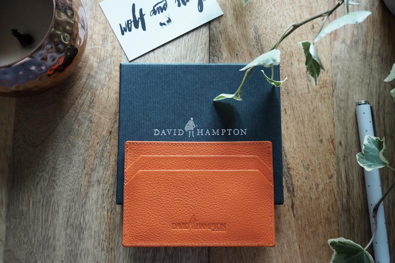 David Hampton Leather Card Holder Giveaway