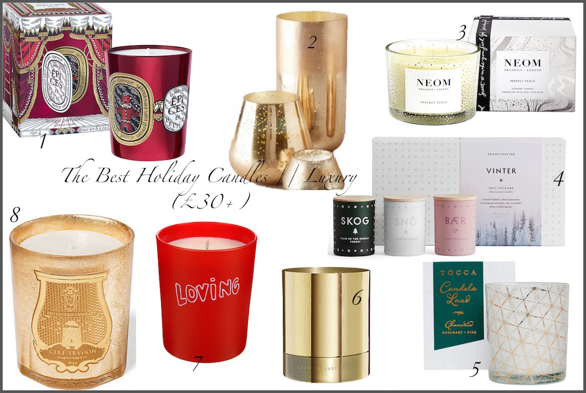 Friday Finds: The Best Holiday Candles | Luxury - £30+ | Wolf & Stag