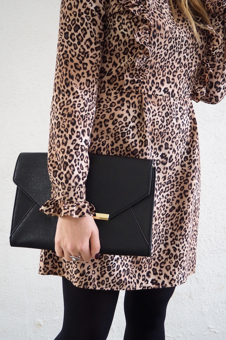 My Kind of Fancy: Leopard Print Ruffled Dress | Wolf & Stag