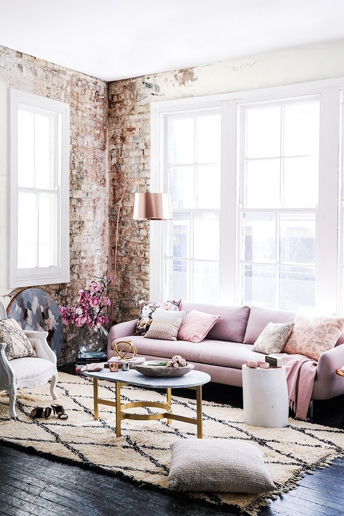 Blush Pink Interiors | Wolf & Stag