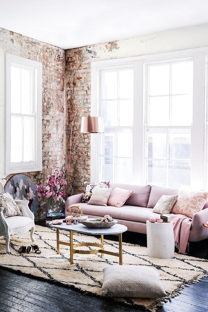 Blush Pink Interiors | Wolf & Stag