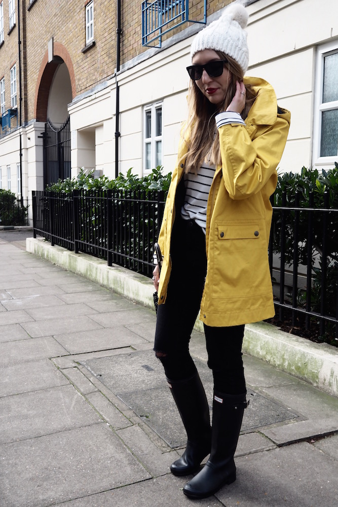 April Showers and a Yellow Raincoat | Wolf & Stag