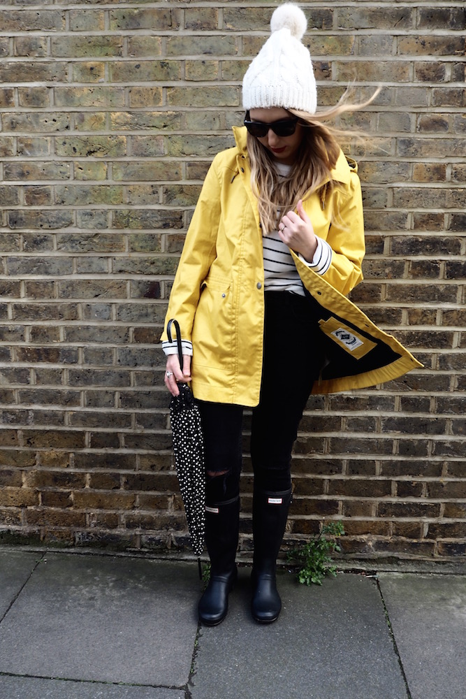 April Showers in a Yellow Raincoat | Wolf & Stag