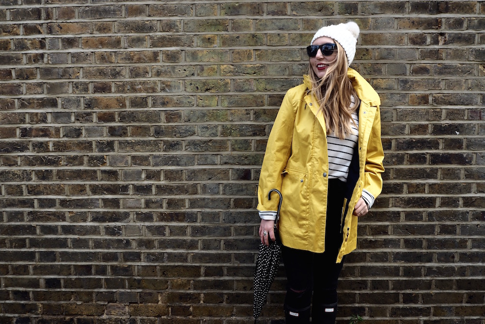 Spring Showers in a Yellow Raincoat | Wolf & Stag