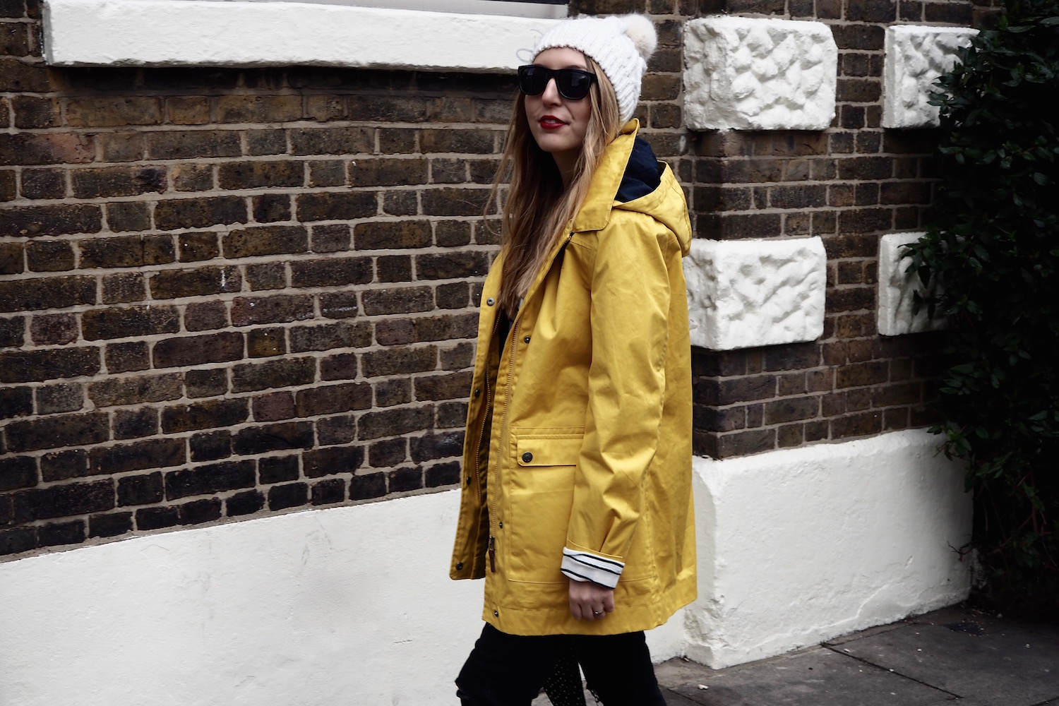 April Showers in a Yellow Raincoat   Wolf & Stag