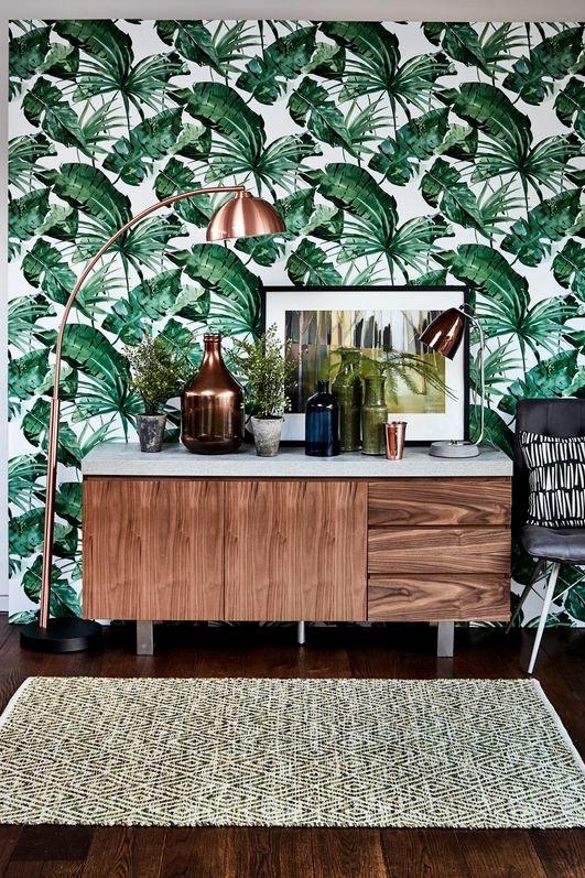 Leaf-Print Interiors Inspiration   Wolf & Stag