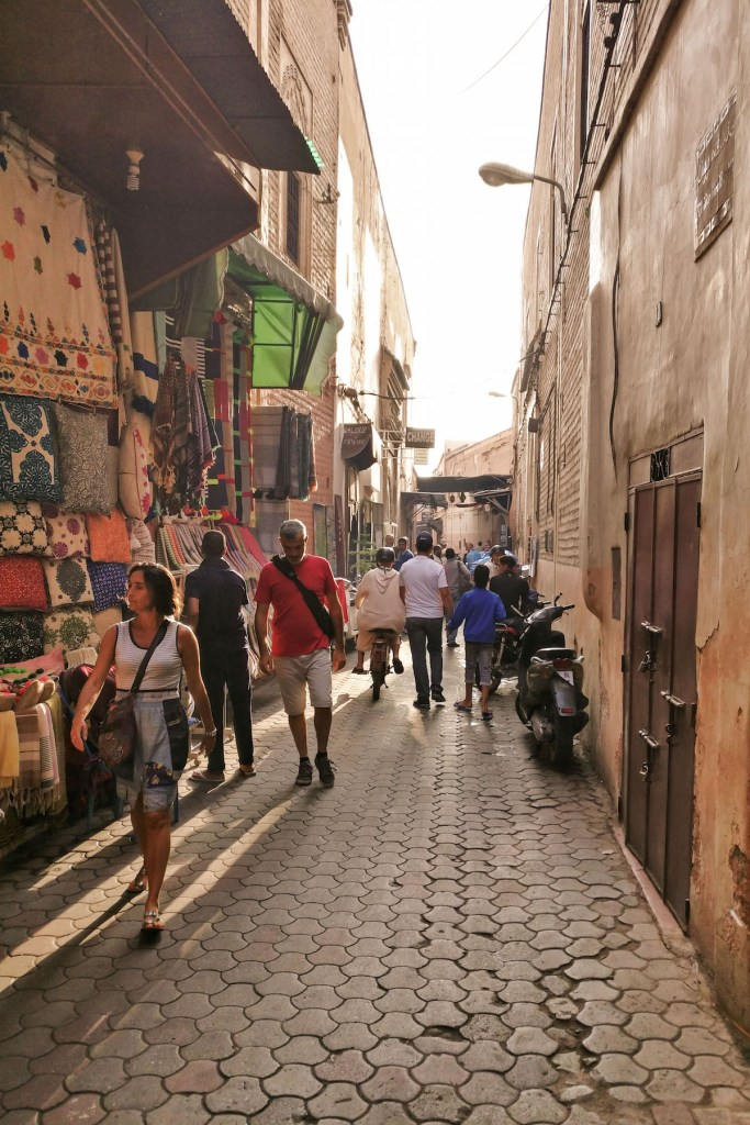 Walking the souks | Wolf & Stag's Travel Guide to Marrakech, Morocco