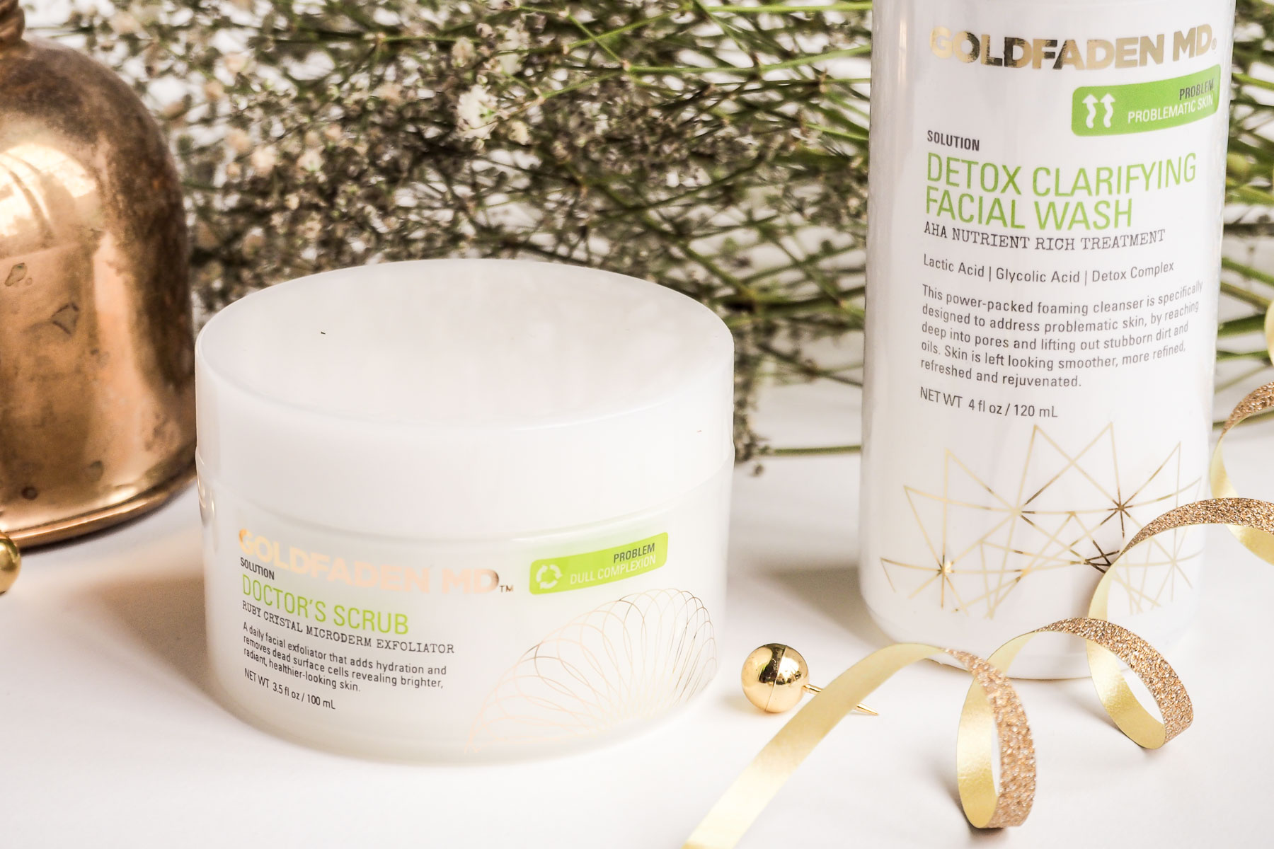 Beauty Review: Goldfaden MD's Detox Clarifying Facial Wash & Doctor's Scrub | Wolf & Stag