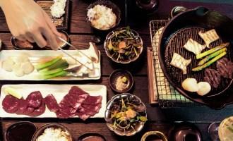 Yakiniku (Japanese Barbecue) at Sakagura in Mayfair, London | Wolf & Stag