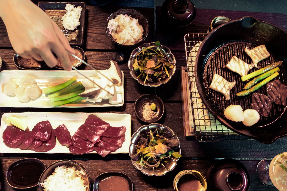 Yakiniku (Japanese Barbecue) at Sakagura in Mayfair, London | Wolf & Stag