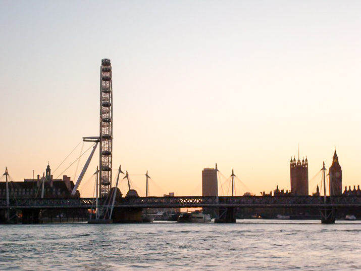 My very first London skyline, 2009 | My life in London, 8 Years On | Wolf & Stag