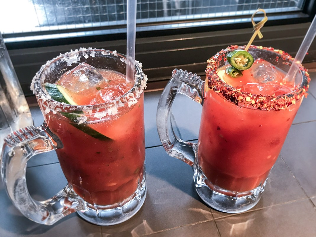 The 5 Best Bloody Marys in London   HotBox London, Spitalfields   Wolf & Stag