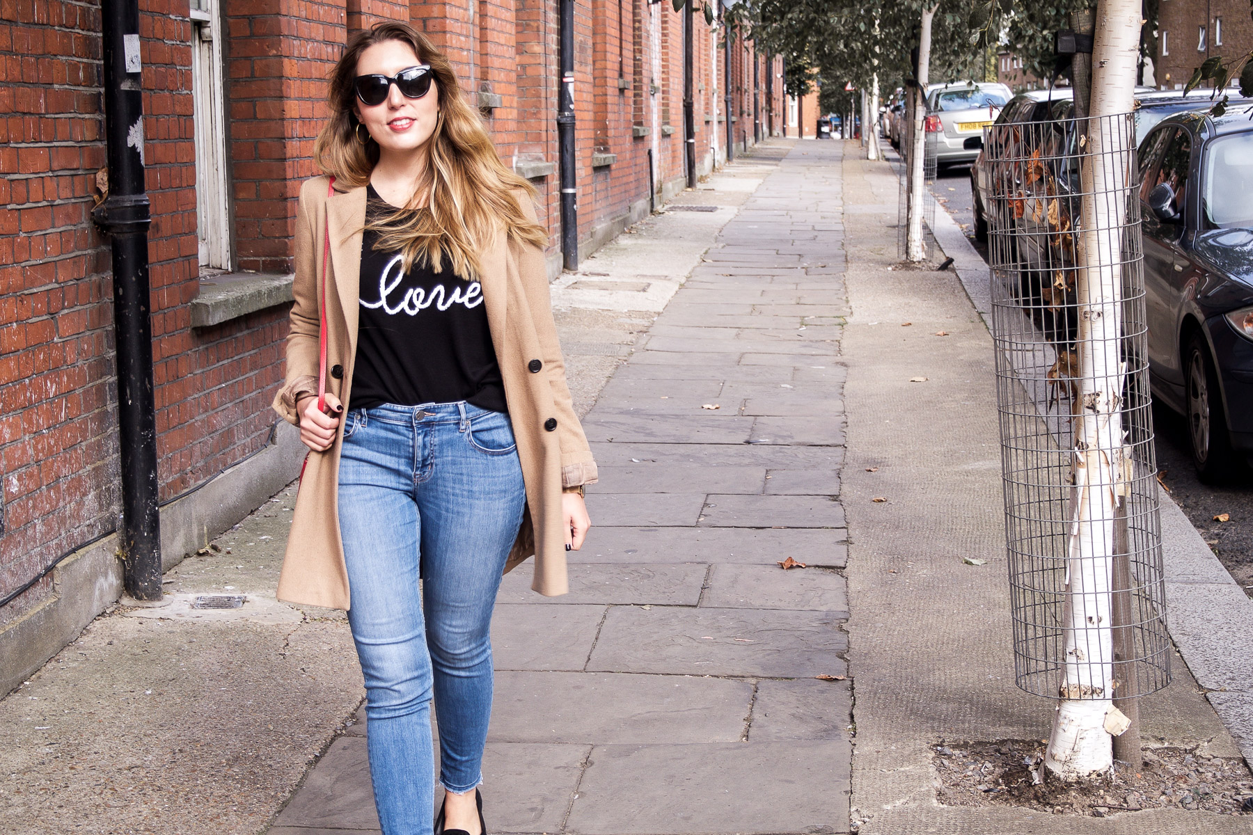 Autumn Fashion, Love Jumper, and Loafers