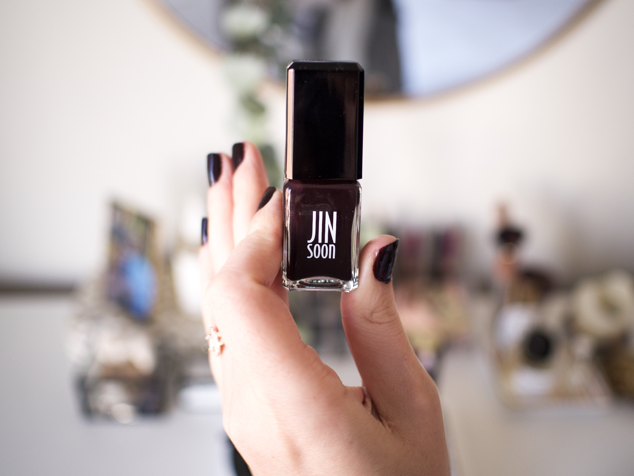 A Space NK Sale Haul | Jin Soon Nail Polish in in 'Risque' | Wolf & Stag