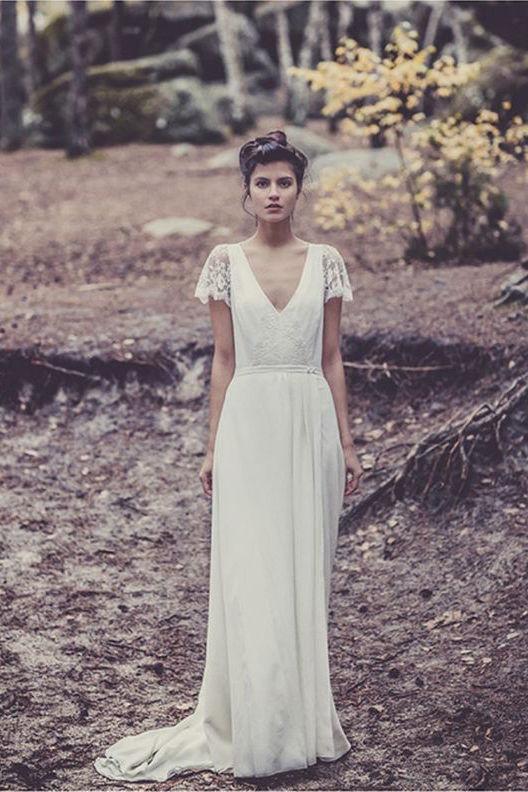 Wedding Dress Shopping: My Dream Dresses | Laure de Sagazan | Wolf & Stag