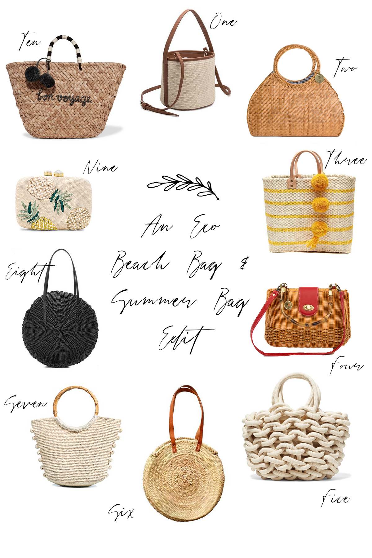 The Eco Becah Bag & Summer Bag Edit for SS 2018 | Wolf & Stag