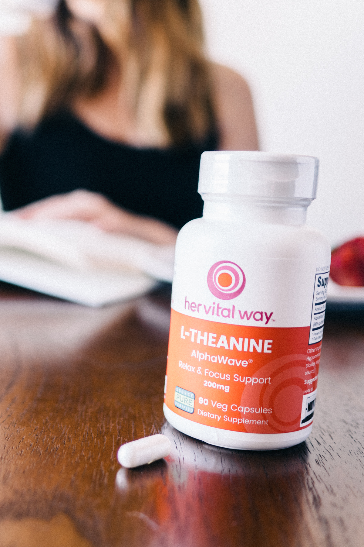 Let's talk about... My Journey with L-Theanine from Her Vital Way   Wolf & Stag
