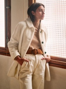 The Sustainable Winter Coat Edit   Sezane Isae Coat