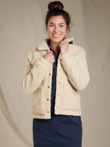 The Sustainable Winter Coat Edit | Toad & Co Sherpa Jacket