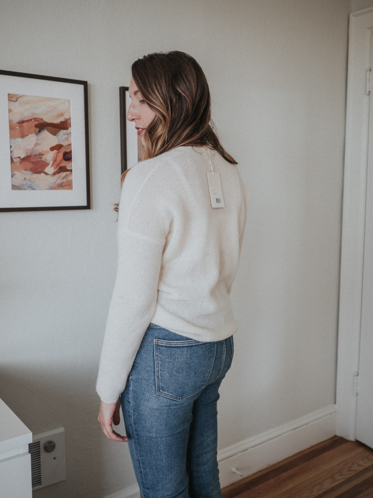 An honest review of Sezane | the Willy jumper in Ecru | W&S