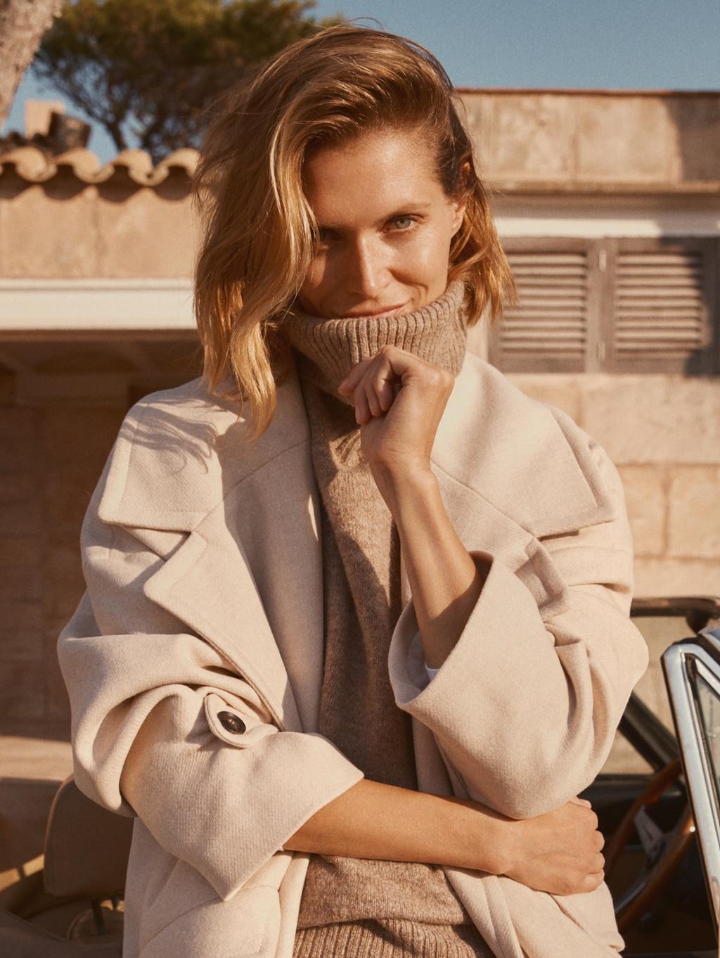 The (Mostly) Sustainable Autumn Capsule Wardrobe   crisp, romantic, beautiful wardrobe from sustainable brands   image source: Mango