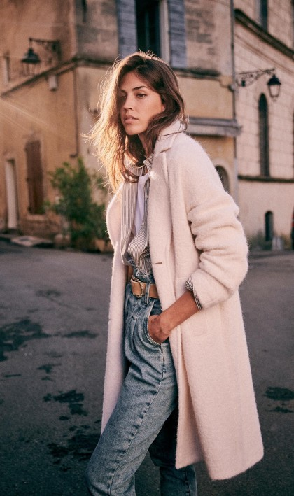 The (Mostly) Sustainable Autumn Capsule Wardrobe | crisp, romantic, beautiful wardrobe from sustainable brands | image source: Sezane