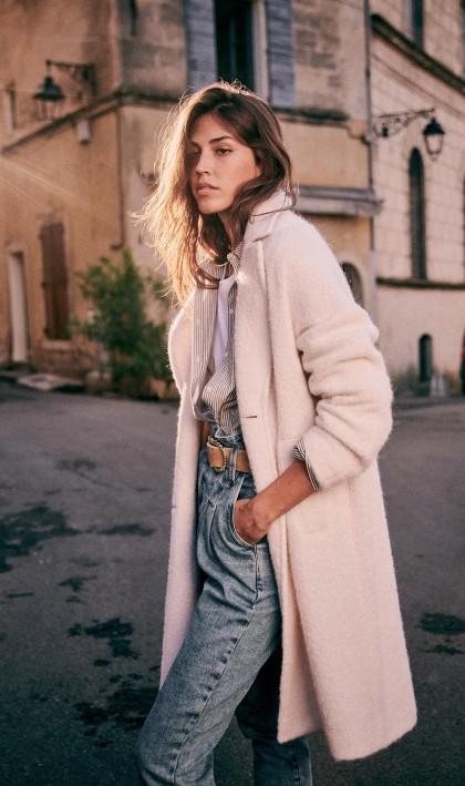 The (Mostly) Sustainable Autumn Capsule Wardrobe   crisp, romantic, beautiful wardrobe from sustainable brands   image source: Sezane