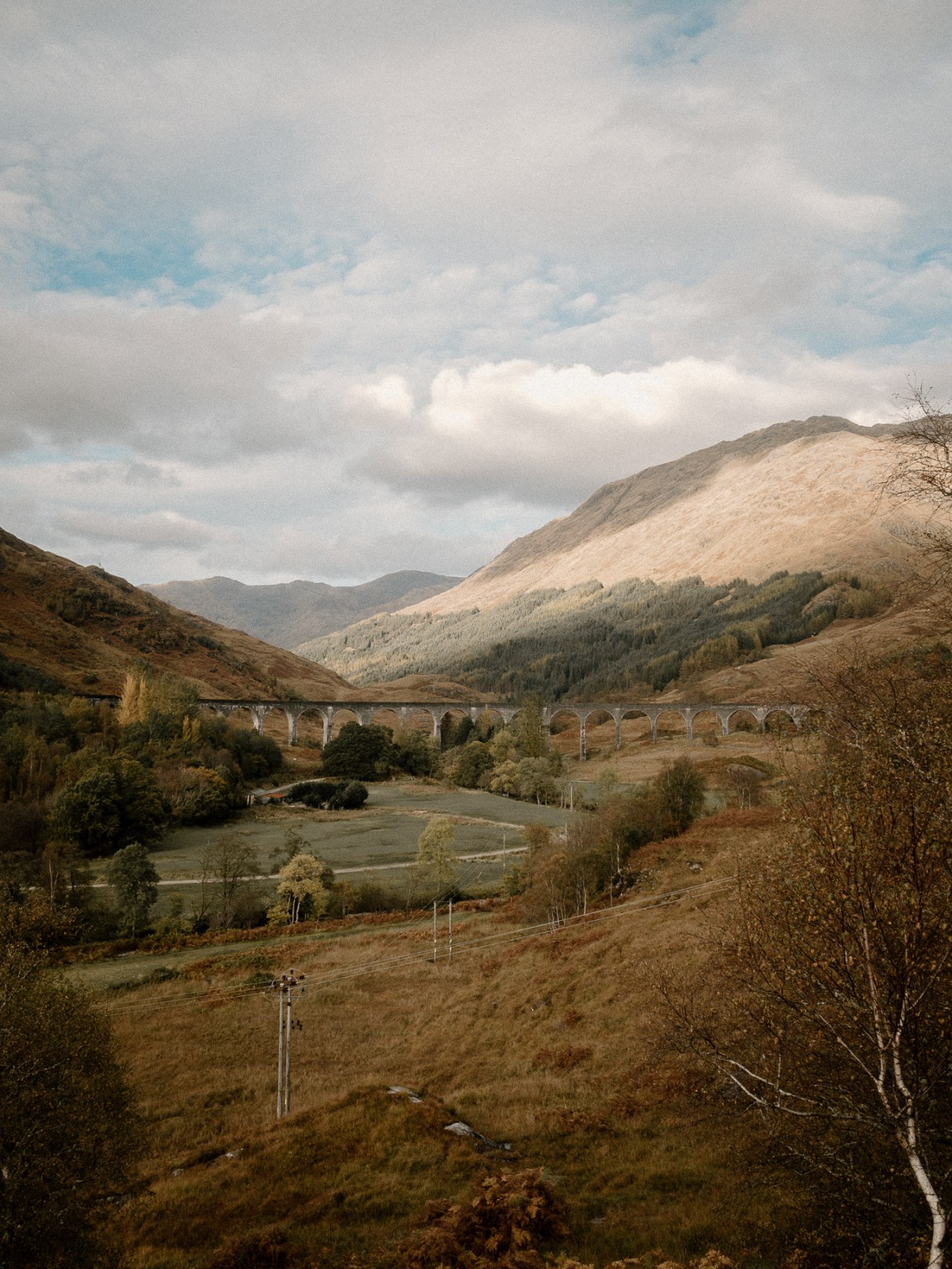 Views of Glenfinnan Viaduct | A One Week Scottish Highlands Travel Itinerary | a detailed account of exactly what we did to make the best 7 day roadtrip through the Scottish Highlands | W&S