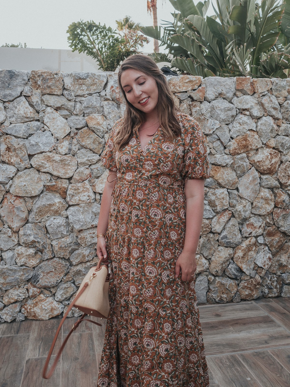 An honest review of Sezane | Estelle Dress in Orchid Indian Flowers | W&S