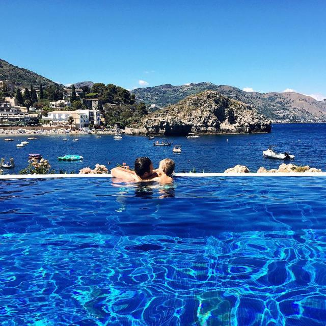 Throwback Thursday to restful pool days in Sicily last yearhellip