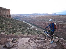 The last day of pedaling before getting into Moab