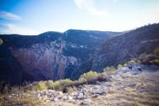 The Gorges du Verdon, Hidalgo state version.