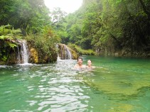 The Semuc Champey natural pools