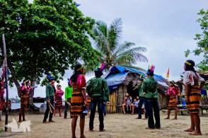 Traditional Kuna dancing