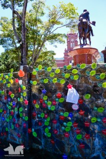 A memorial to the families affected by La Violencia