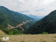 Men had to fight Mother Nature to make the road between Vilcabamba and La Balsa happen.