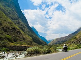 Breathtaking canyons en route to Chachapoyas