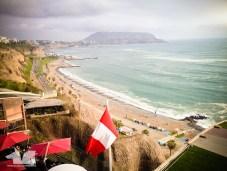 Gorgeous views on Playa Redondo from Larcomar