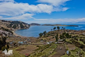 The picturesque views of Isla del Sol