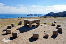 One of 80 Inca ruins on the island