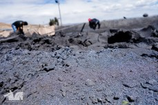 Silver dust. All that's left in the Cerro Rico after 400 years of mining