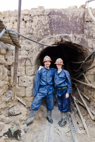 Miners for a day.