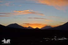 Sunset in Southern Boliva