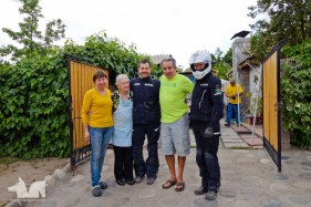 Our good friend Pato and his family that put us up for a night