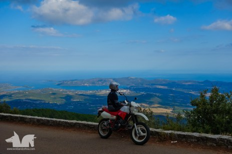Riding up to Zonza from Porto Vecchio. Yes we stopped a lot to enjoy the views