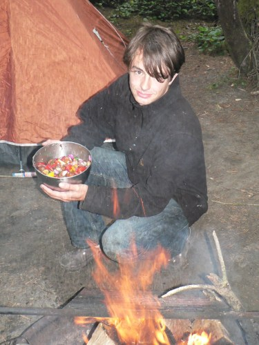 Backcountry Camp Cooking Recipe - Rice Pilaf